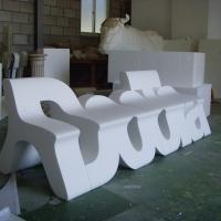 Doota<br/>h 1200 x 1200 x 4000 mm / urethane, Styrofoam, steel / 2009