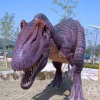 Dinosaur 1<br/>h 2500 x 4000 x 1800 mm / fiber reinforced plastics, steel / 2010