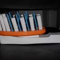 Toothbrush<br/>h 250 x 570 x 160 mm (set) / fiber reinforced plastics, mixed media / 2013