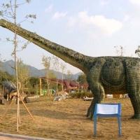 Dinosaur 5<br/>h 4700 x 5300 x 1600 mm / fiber reinforced plastics, steel / 2010