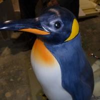 Penguin 2<br/>h 1100 x 400 x 350 mm / fiber reinforced plastics, steel / 2012